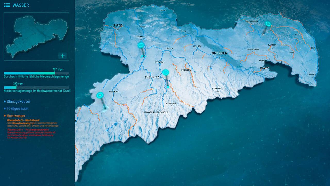 Saxony Interactive Maps